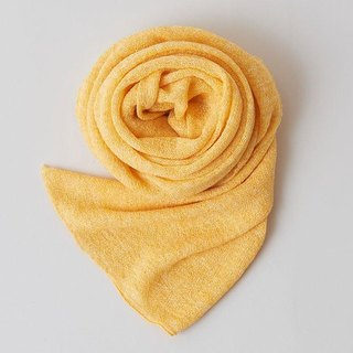 Linen Knit Stall Yellow