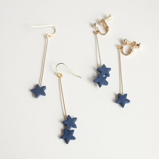 Small star piercing / earrings