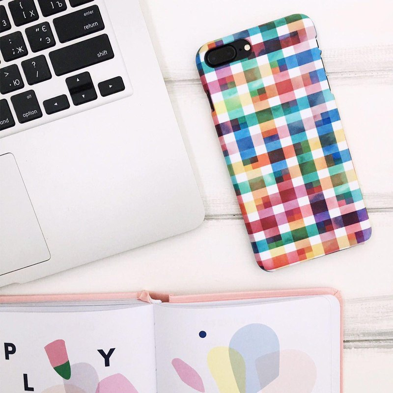 MOSAIC iPhone 8 Plus case, iPhone 7 Plus case, gift for bff, tech gift, iPhone