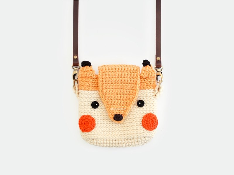 Fuji Instax Crochet Case - THE FOX | for Mini 25 / 50s / 8 / 90 / 70 / 26 / 9