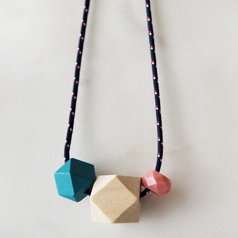 The Geometric Series Necklace – Azura by unit515