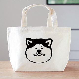 Akita dog mini bag lunch bag dog