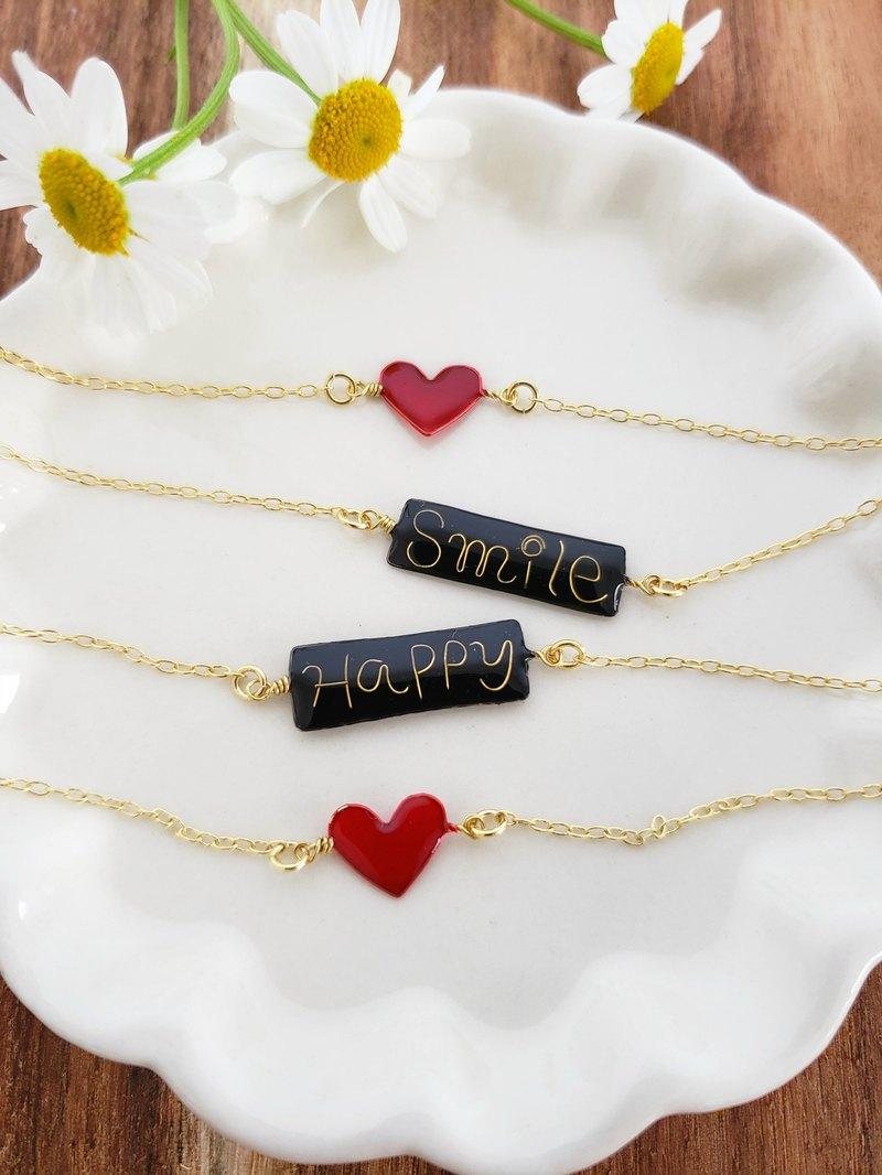 Smile & Happy bracelet