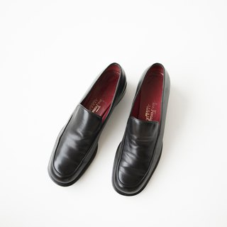 Salvatore Ferragamo Loafer Shoes 深黑乐福鞋 香蕉猫