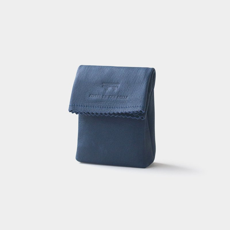 paper key pouch : navy
