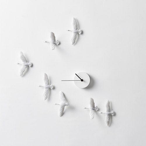 候鸟时钟 -  V 型 / Migrant bird X Clock - V Formation