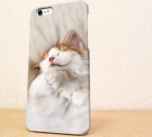 (Free shipping) iPhone case GALAXY case ☆ The cat which takes a nap