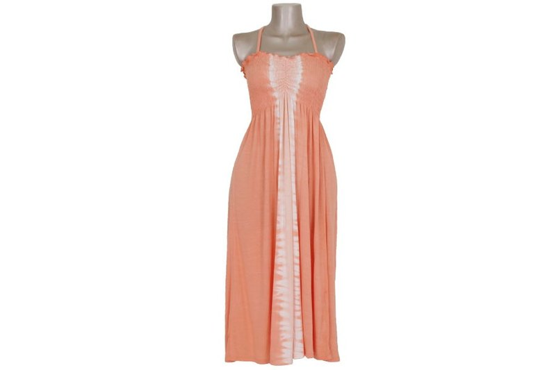 Thai Dai Summer Dress <Orange>
