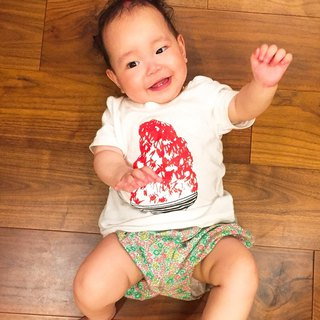 刨冰 Kakigori Shaved ice  Baby T-shirt Strawberry