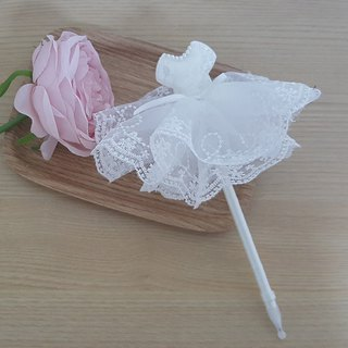 mini white wedding dress ,Wedding Guest Book Pens,dress pen