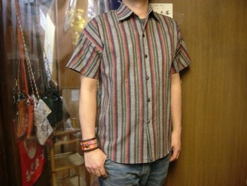 Enshu striped shirt Ichi