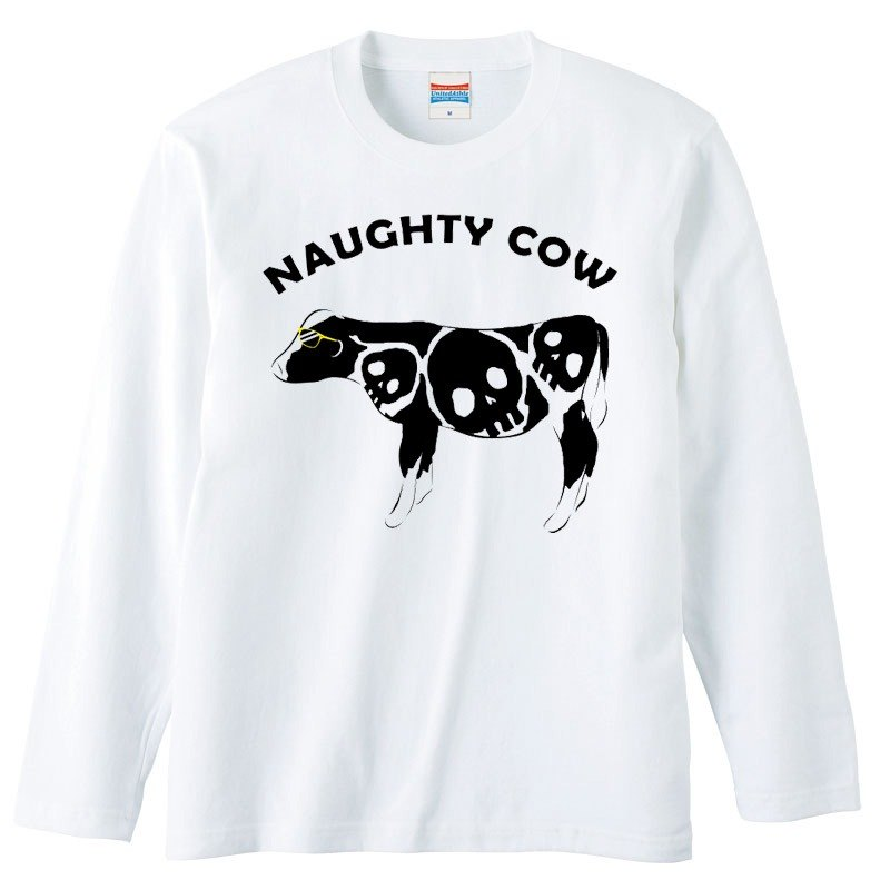 [Long sleeve T-shirt] Naughty cow