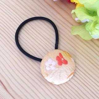 "Hair elastic with Japanese Pattern, Kimono (Small) ""Brocade"""