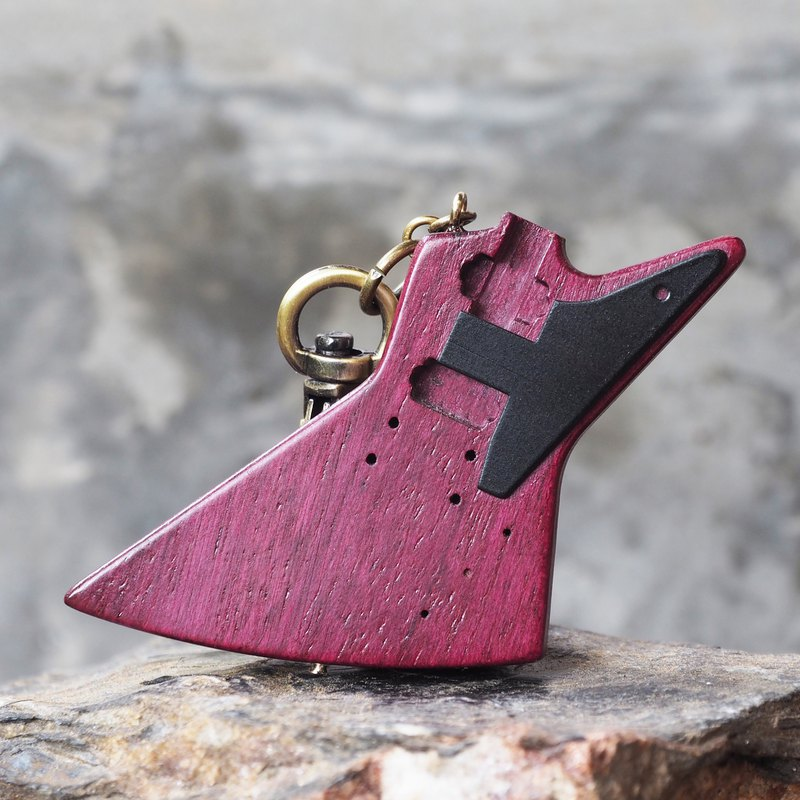 EXPLORER KEYCHAIN ( purple heartwood)