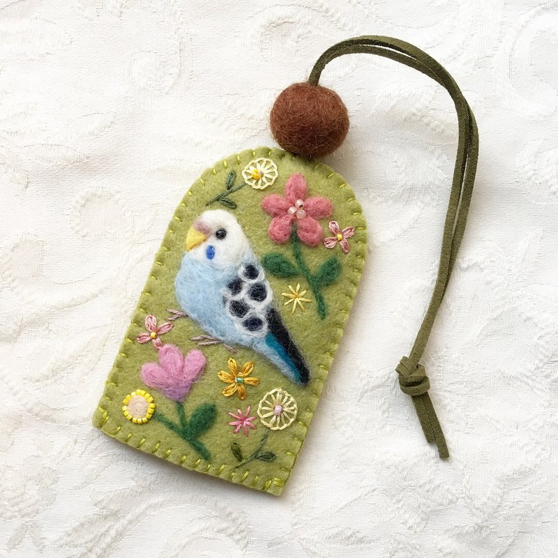 key cover of budgie
