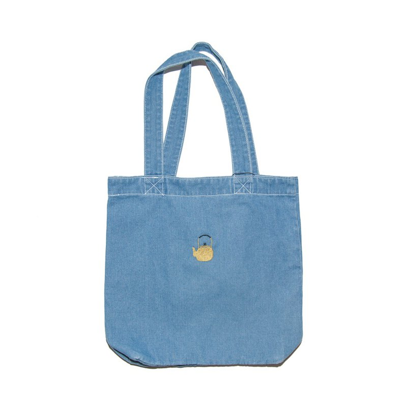 Kettle Denim Tote Bag Tcollector