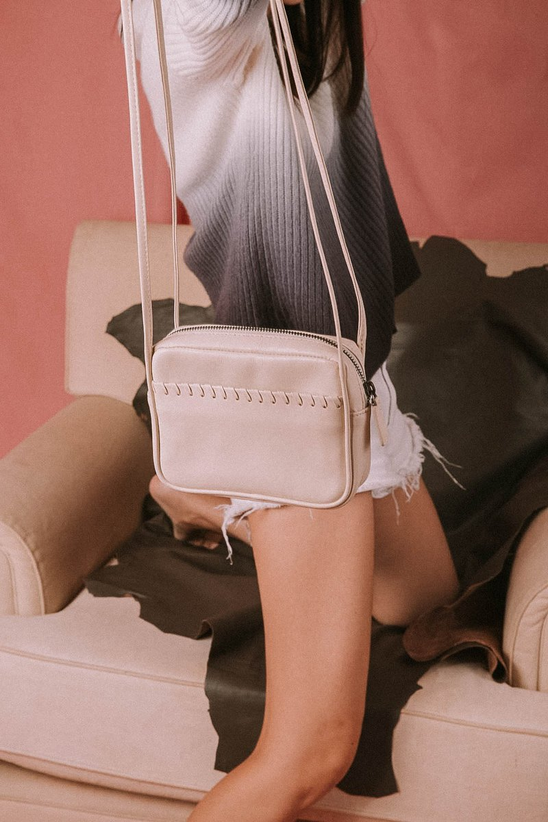 Julie Cross-body Bag  in Macaroon Cream