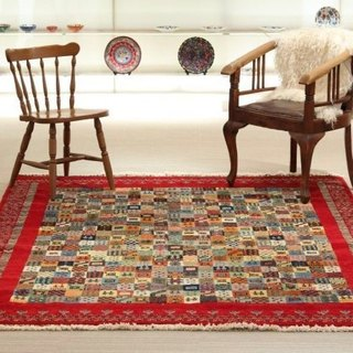 Hand-woven Turkish carpets new design lovely red larger living size 245 × 185cm