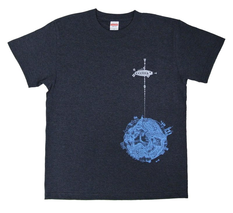 Space Elevator T-shirt Mens