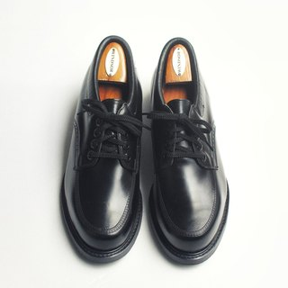 70s 美制黑色笨皮鞋|Knapp Moc Toe Work Shoes US 9.5D EUR 4243 -Deadstock