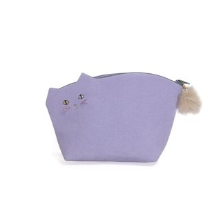 With Kitten pouch 008 No. violet ☆ beard [MTO]