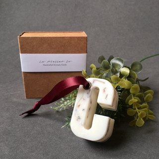 Scented Soy Wax Decorative Letter Ornament | Home Decor | Customised Gift